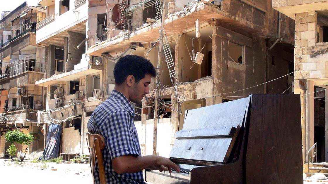 Vorschaubild: Musik gegen Bomben und Gewalt